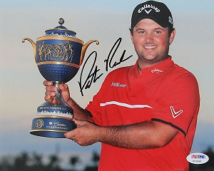 Patrick Reed  Signed 8 x 10 Photo PSA