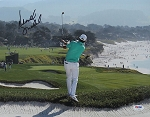 Brandt Snedeker Signed Pebble Beach 11 x 14 Photo PSA