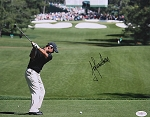 Trevor Immelman  Signed 11 x 14 Photo JSA