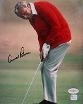Arnold Palmer  Signed 8 x 10 Photo JSA & GAI