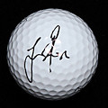 Justin Rose Signed Titleist Pro V1  PSA/DNA