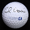 Paul Lawrie Signed Open Championship Ball PSA/DNA