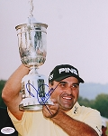Angel Cabrera Signed 8 x 10 Photo JSA