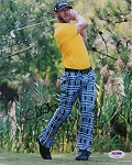 Graham DeLaet Signed 8 x 10 Photo PSA