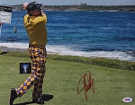 John Daly Signed 11 x 14 Photo PSA