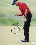 Jim Furyk Signed 8 x 10 Photo JSA