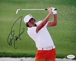 Rickie Fowler  Signed 8 x 10 Photo JSA