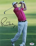 Russell Henley Signed 8 x 10 Photo PSA
