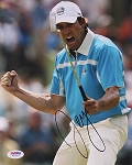 Sergio Garcia  Signed 8 x 10 Photo PSA