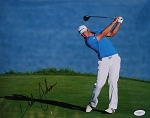 Dustin Johnson Signed 11 x 14 Photo PSA