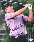 Zach Johnson Signed 8 x 10 Photo JSA