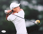 Anthony Kim Signed 8 x 10 Photo JSA