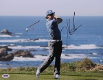 Hunter Mahan Signed 11 x 14 Photo PSA