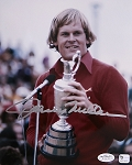 Johnny Miller Signed 8 x 10 Photo JSA