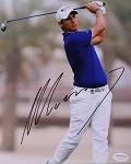 Matteo Manassero  Signed 8 x 10 Photo JSA
