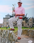 Louis Oosthuizen Signed 8 x 10 Photo JSA