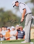 Adam Scott Signed 11 x 14 Photo JSA
