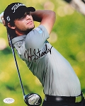 Kyle Stanley Signed 8 x 10 Photo JSA