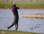 Vijay Singh Signed 11 x 14 Photo PSA
