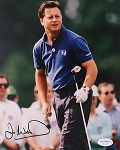 Ian Woosnam Signed 8 x 10 Photo JSA