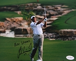 Lee Westwood Signed 8 x 10 Photo JSA