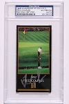 Fred Couples Signed Black Masters Card PSA