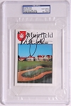 Nick Faldo Signed Muirfield Scorecard PSA