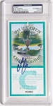 Lee Jansen  Signed 1998 The Olympic Club  US Open Ticket  PSA
