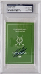 John Daly  Signed St Andrews Scorecard PSA