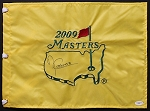 Angel Cabrera Signed Masters Flag JSA