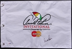 Arnold Palmer Signed Invitational  Flag PSA