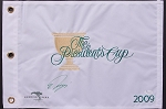 Ryo Ishikawa Signed 2009 Presidents Cup Flag JSA