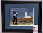 Sergio Garcia Signed & Framed 11 x 14 Photo JSA