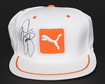 Rickie Fowler Signed Puma  Patch Tour Hat White PSA/DNA