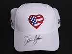 Dustin Johnson Signed Taylor Love USA Hat PSA/DNA