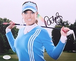 Natalie Gulbis Signed 8 x 10 Photo JSA