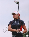 Natalie Gulbis Creamer Signed 11 x 14 Photo JSA